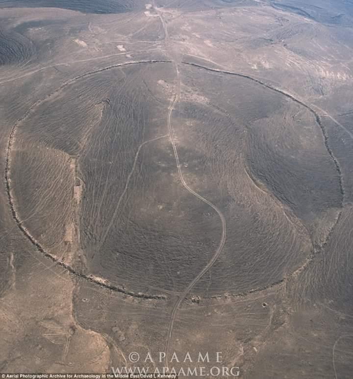 الدوائر الغامضة جنوب صحراء الأردن