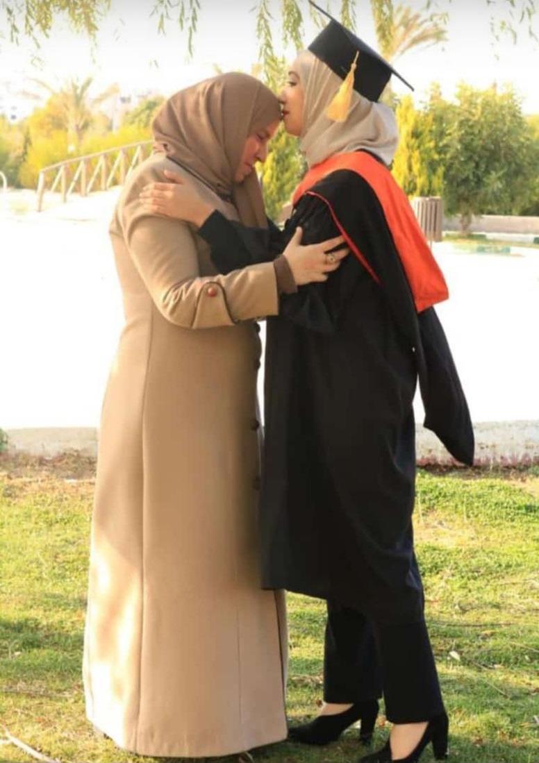 سارة ابو جابر الف مبروك شهادة البكالوريوس