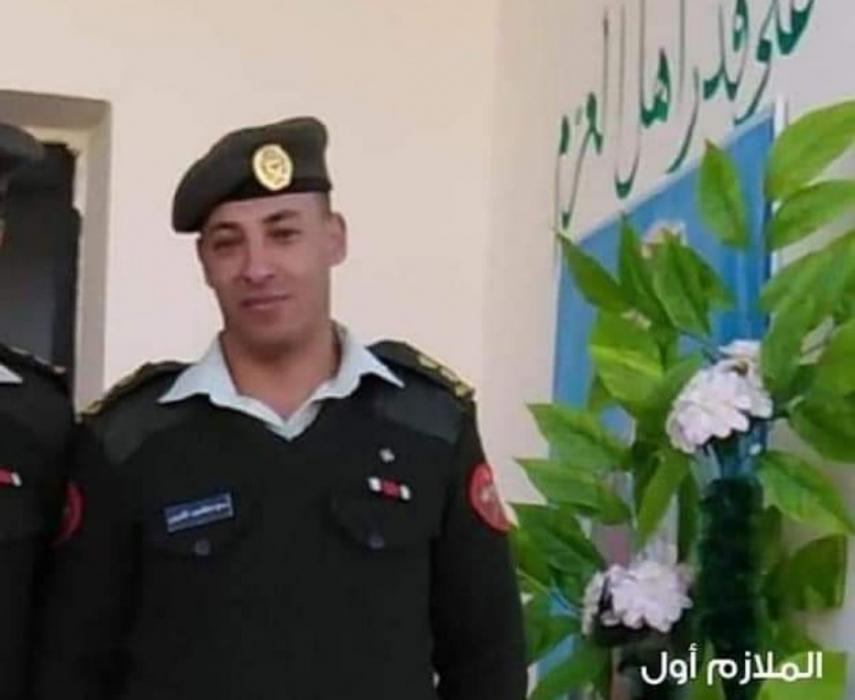 الملازم أول عدي عبدالمجيد الضروس في ذمة الله