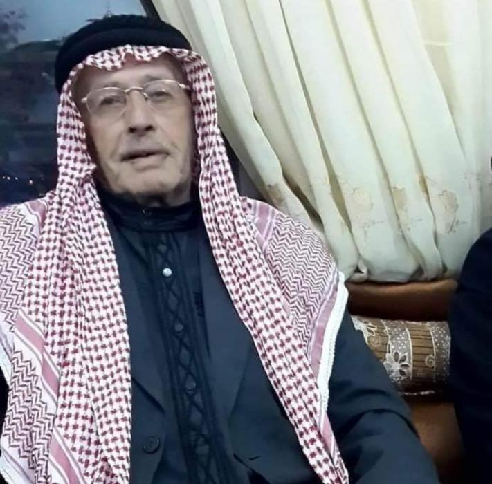 الحاج قاسم فلاح عضيبات ابو رياض في ذمة الله