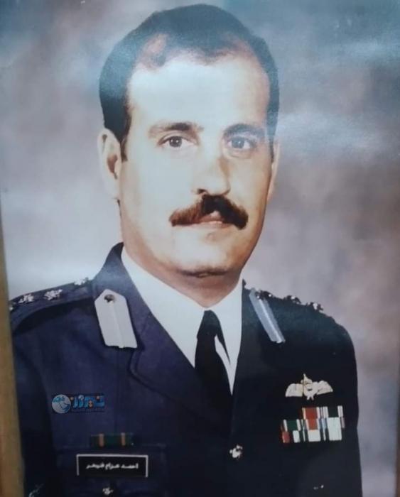 وفاة العميد الطيار احمد البدارنه