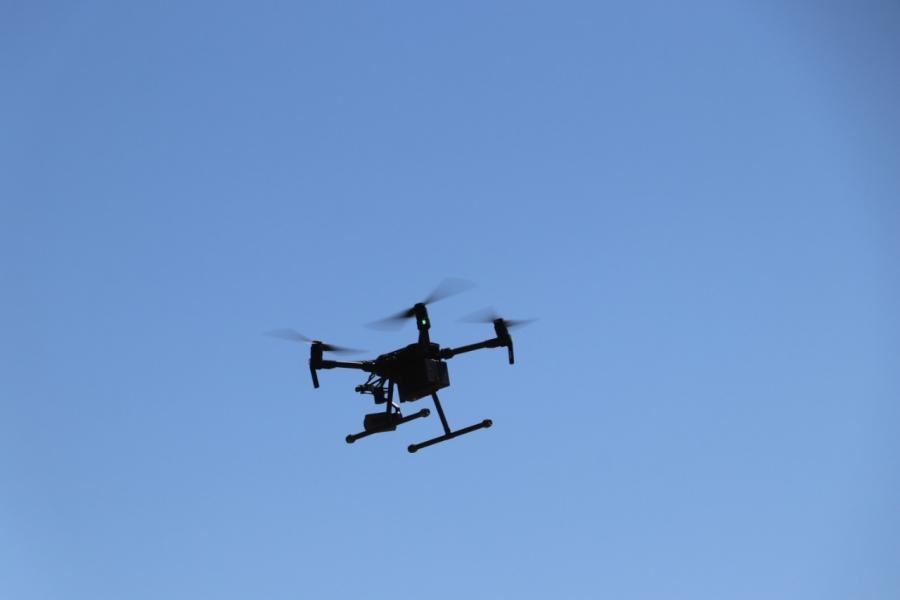 إطلاق طائرات مسيرة الدرون في محميتي ضانا والموجب...صور