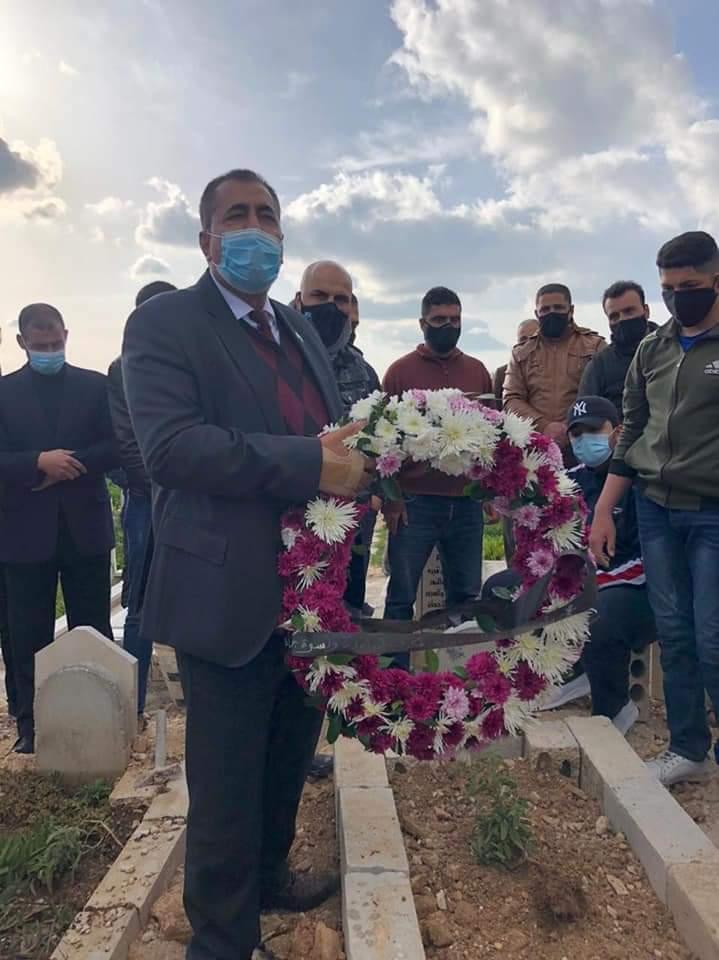جامعة جدارا تشارك في تشييع جثمان فقيدها الدكتور حيدر العمري