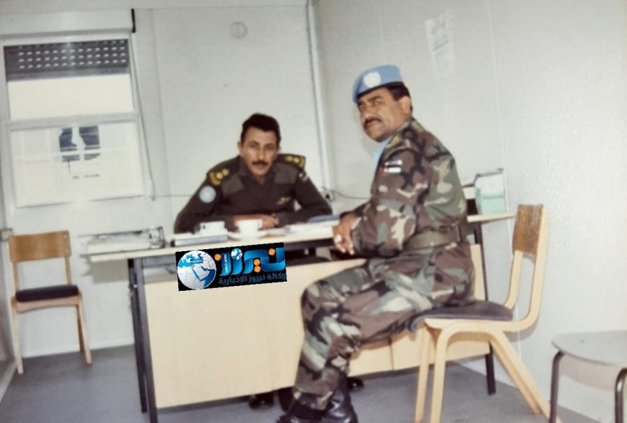 صورة من ذاكرة الجيش العربي..