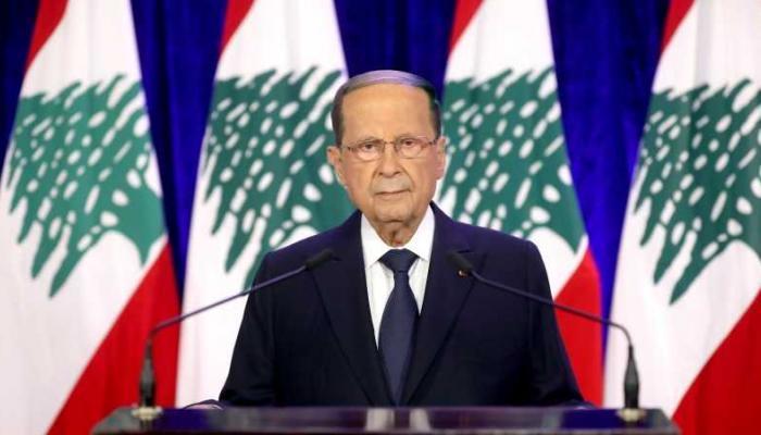 الرئيس اللبناني  من يسرق أموال الناس يسرق وطنا