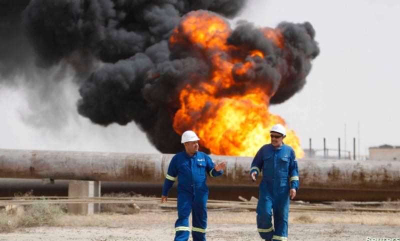 العراق يتفق على استثمار الغاز المصاحب للنفط