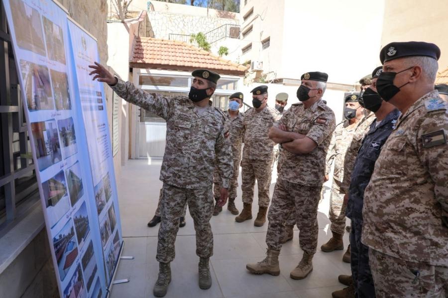 الحنيطي يرعى إعادة افتتاح نادي ضباط القوات المسلحة الأردنية في الزرقاء