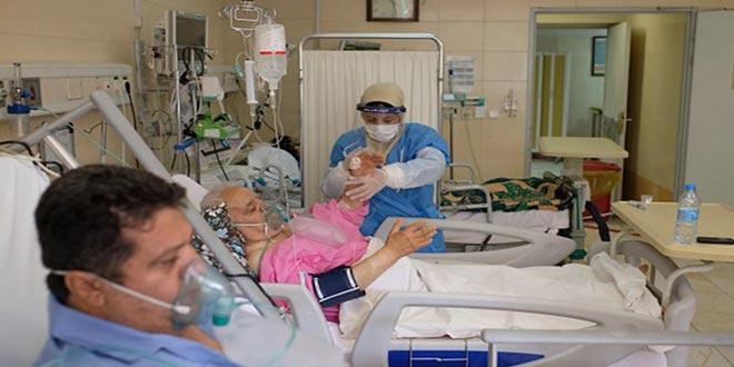إيران تسجل 319 وفاة و21312 إصابة جديدة بكورونا