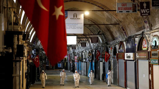 حصيلة مرتفعة لإصابات كورونا بتركيا