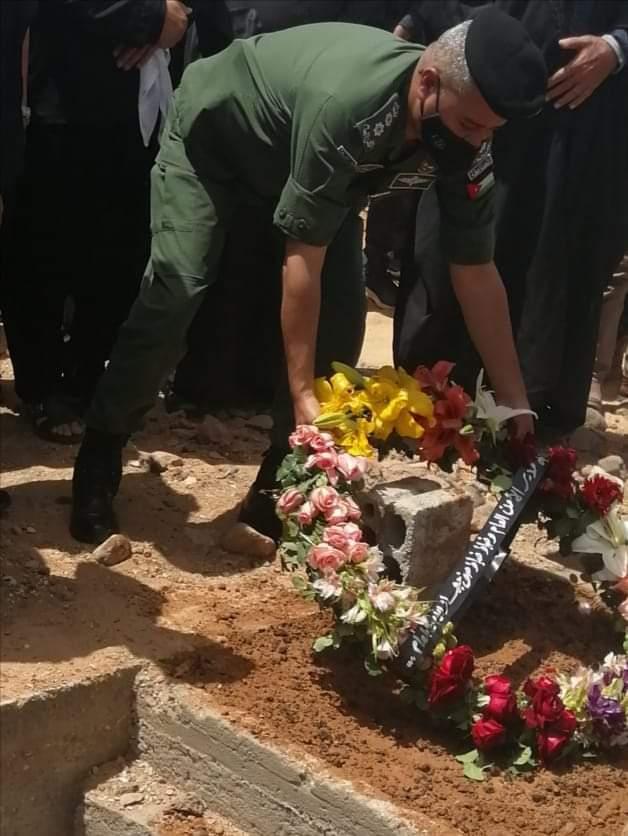 تشييع جثمان الرقيب قُصي ناصر كامل العفير