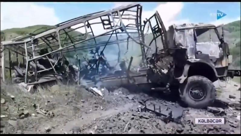 مقتل صحفيين اذربيجانيين اثر انفجار لغم زرعته مجموعة تخريبية ارمينية في قرية محافظة كلبجار المحررة