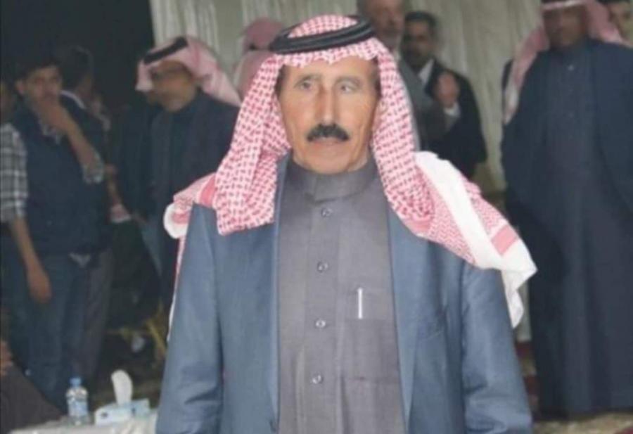 بني صخر تفقد أحد رجالها الشيخ عبدالعزيز ابو جنيب الفايز