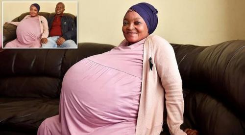 امرأة جنوب أفريقية تلد 10 أطفال وتحطم رقما قياسيا عالميا