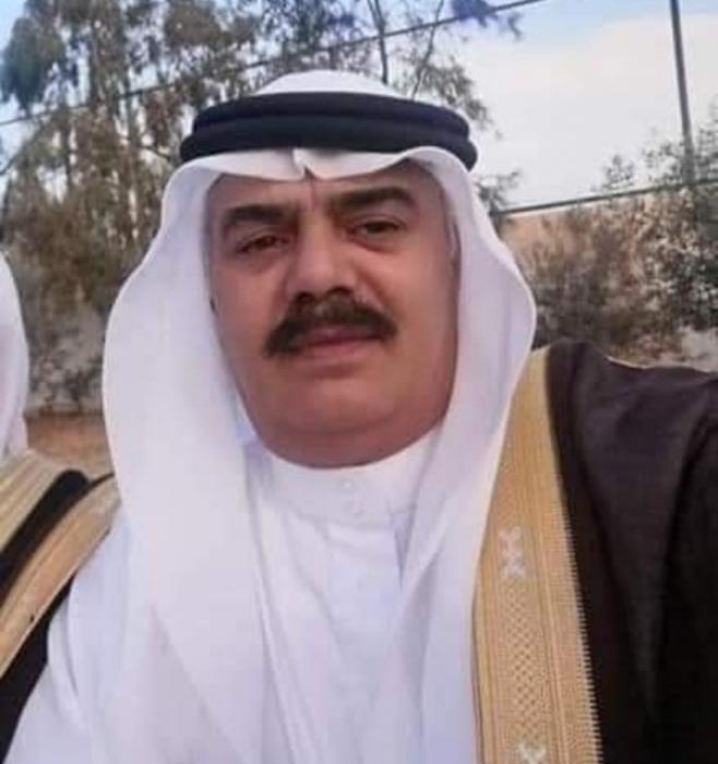 بني حسن تفقد أحد رجالها الشيخ حسين محمد القلاب العموش