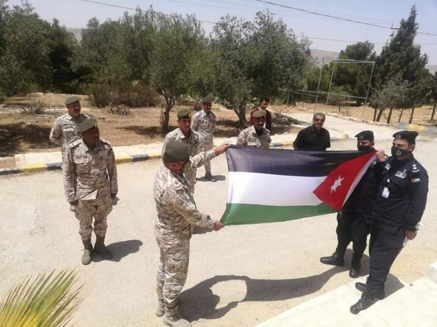 شرطة الكرك و التعبئة والتجنيد يحتفلان بالجلوس الملكي ويوم الجيش وذكرى الثورة العربية الكبرى