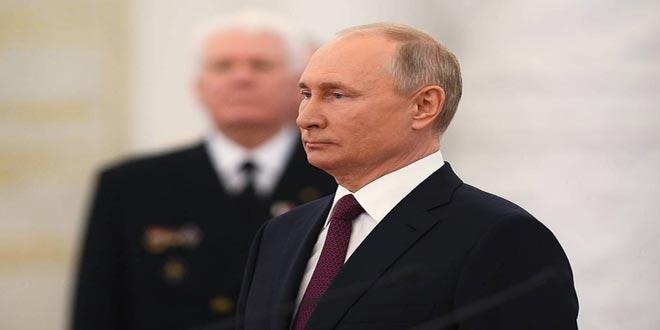 بوتين 18 مليون روسي تلقوا لقاح كورونا