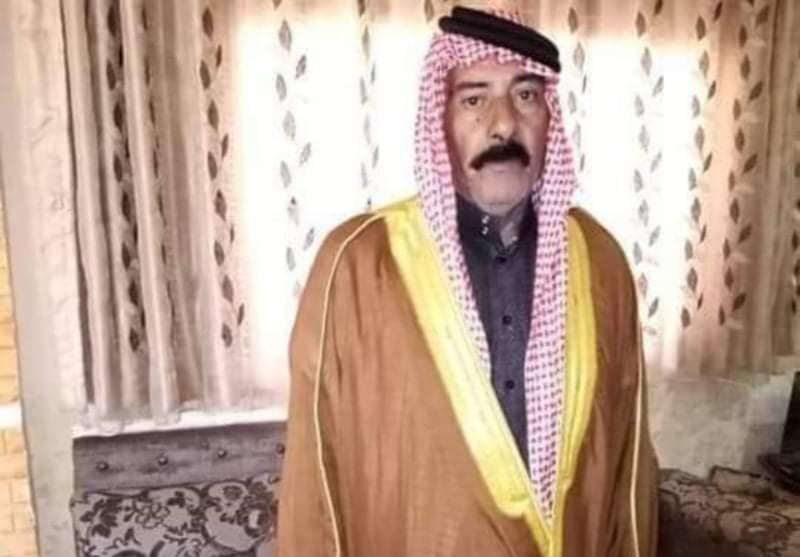 الجبور تفقد أحد رجالها الحاج خالد عتلان الغيالين