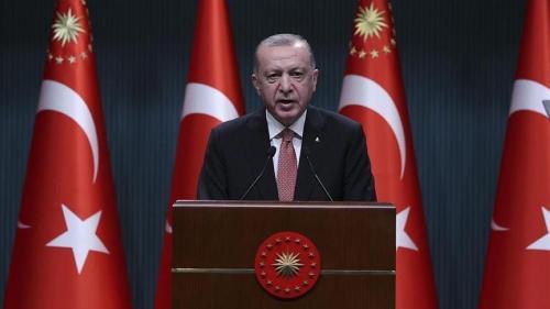 أردوغان إلغاء حظر التجول وعودة تركيا للحياة الطبيعية