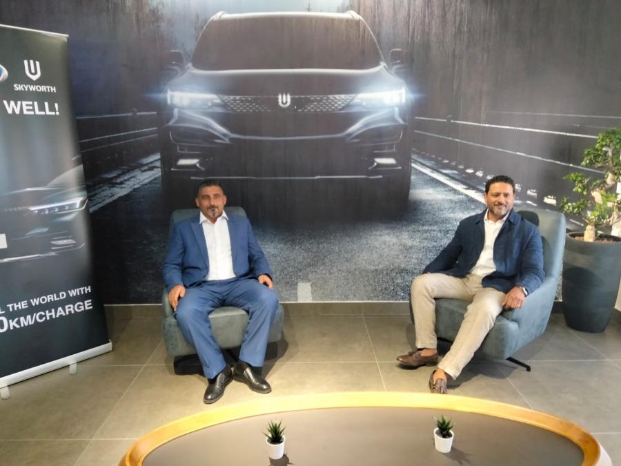 طرح سيارة SkyWell ET5 2021 الفخمة في الأسواق الأردنية... صور وفيديو