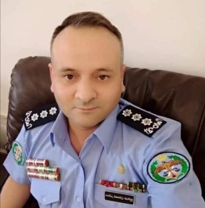 الأمن العام تفقد احد ضباطها