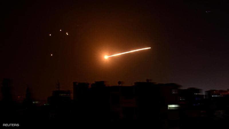 الدفاعات السورية تتصدى لعدوان إسرائيلي
