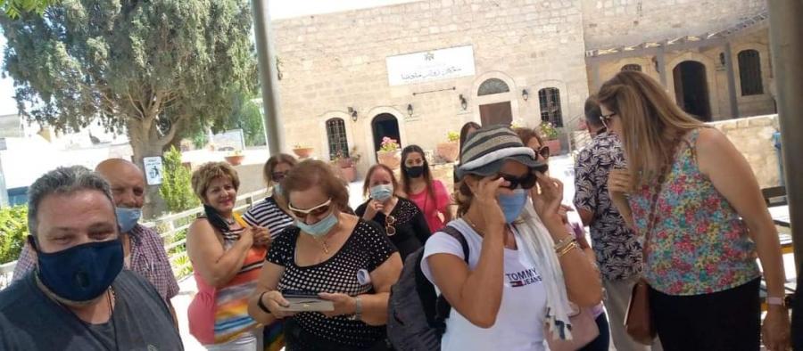 22 الف من السياح الاجانب يزورن مادبا منذ بداية العام.