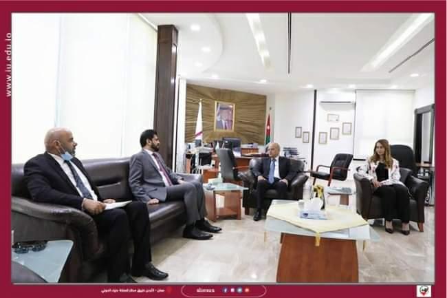 زيارة الملحق الثقافي العُماني لجامعة الإسراء