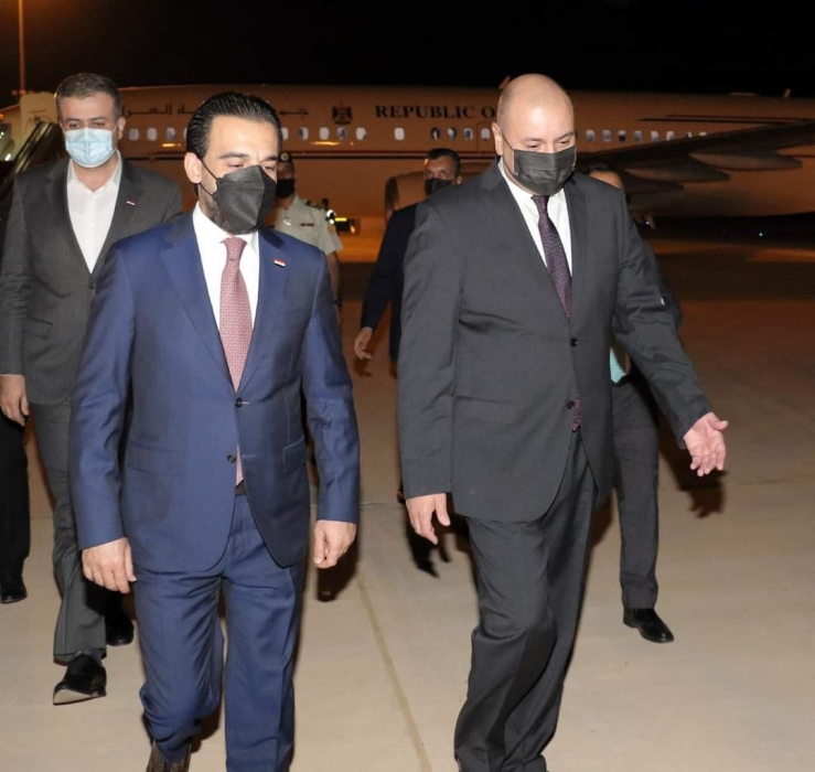 العودات يستقبل رئيس مجلس النواب العراقي... صور