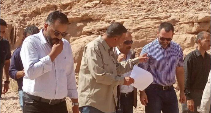 """العتوم استخراج نحاس """"ضانا"""" مشروع استراتيجي حيوي"""