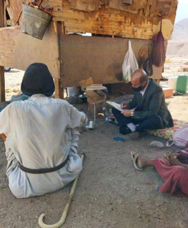 مدير تنمية العقبة يتتبع خطى الفقراء والوزير يستجيب