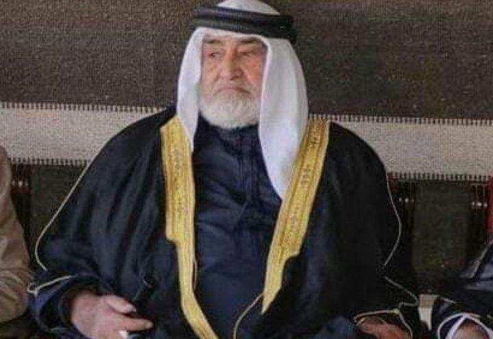 الكرك تفقد أحد رجالها الشيخ مدالله ابراهيم البطوش