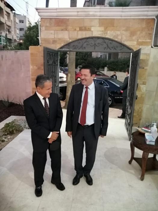 السفير المكسيكي لدى الأردن روبرتو رودريغيز هرنانديز يقيم احتفالاً بمناسبة اليوم الوطني للمكسيك