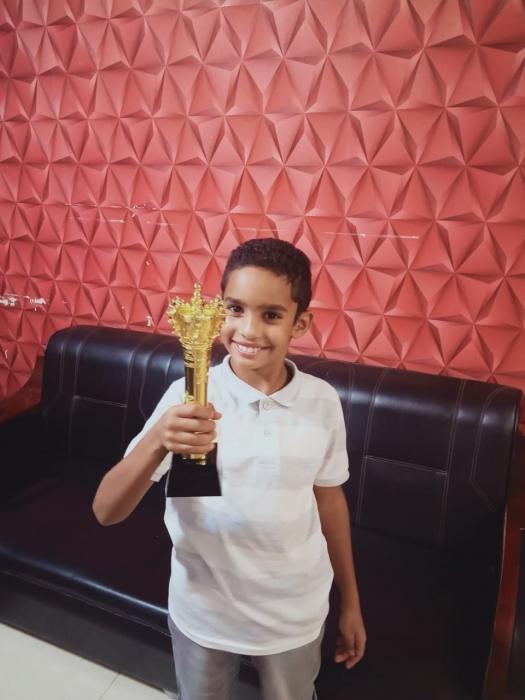 لاعب الموهبة أحمد ماكش  أتمني تمثيل منتخب مصر في محافل الدولية