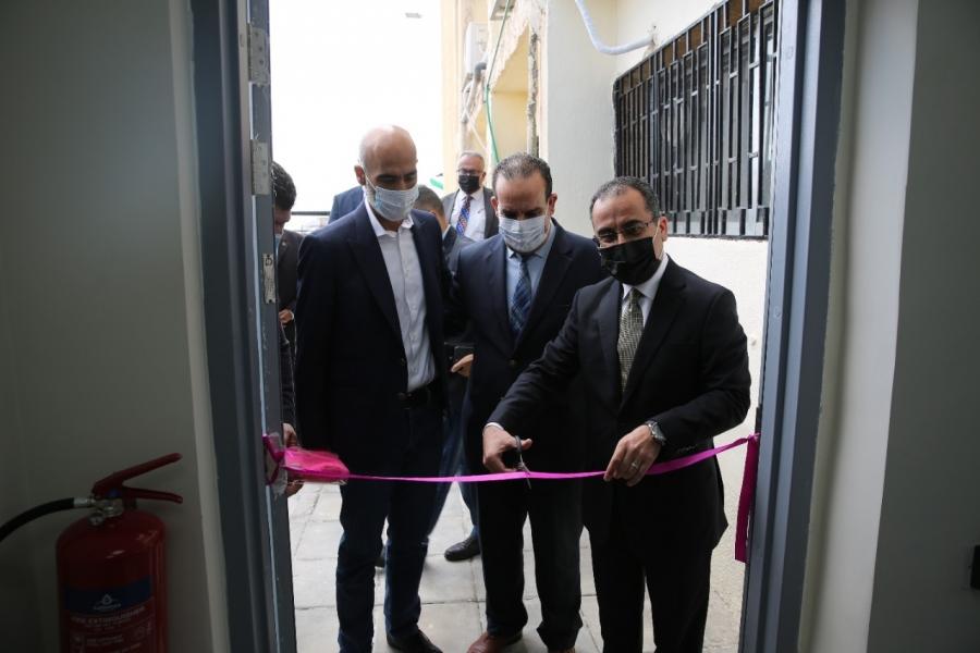 افتتاح مركز اتصال زين لخدمات الزبائن في محافظة عجلون
