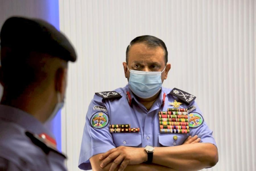 مدير الأمن العام يزور مديرية الإعلام والشرطة والمجتمعية .