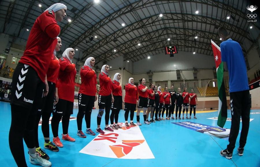 الأردن يحقق انتصاره الثاني ببطولة اليد الآسيوية للسيدات