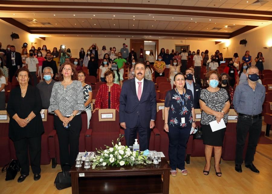 المدرسة الوطنيّة الأرثوذكسيّة - الشميساني تعقد مؤتمر اللّغة العربيّة الأوّل بالعربيّة نبدع