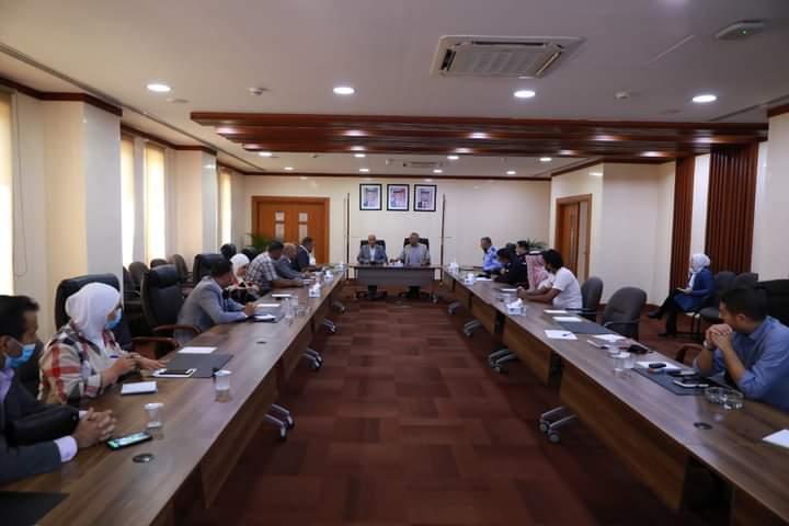اجتماع  اللجنة التوجيهية للدراسات والأبحاث السياحية في العقبة.