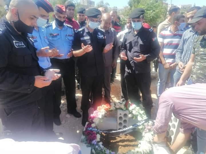 الأمن العام تشيع جثمان الوكيل حلمي علي قوقزة