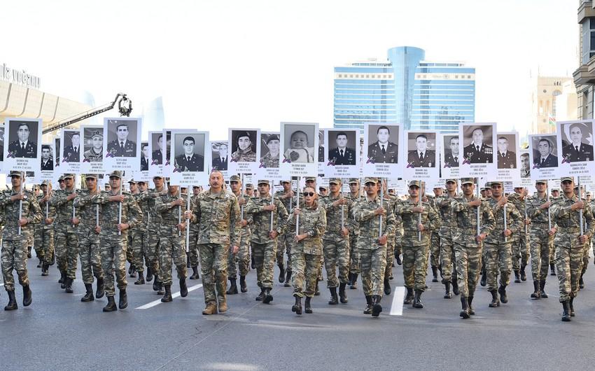 في الذكري الأولي للقبضة الحديدية ... الأذربيجانيون يستعيدون فرحة الانتصارات العظيمة