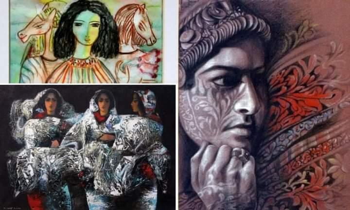 48 عملا فنيا لوجوه نسائية في معرض «هي» في الأردن